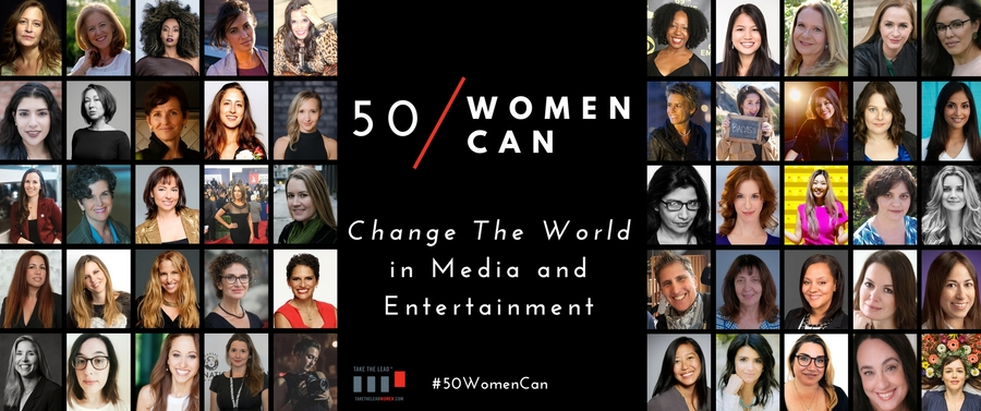 Philanthropist Nancy O'Reilly and Industry Leaders from CBS Entertainment Diversity & Inclusion and HBO Support 50 Women Change the World in Media and Entertainment