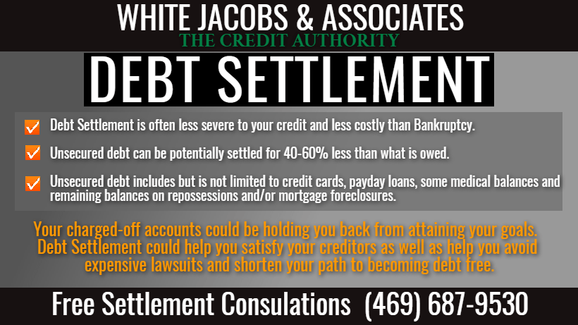 White, Jacobs and Associates Launches Revised Debt Settlement Program