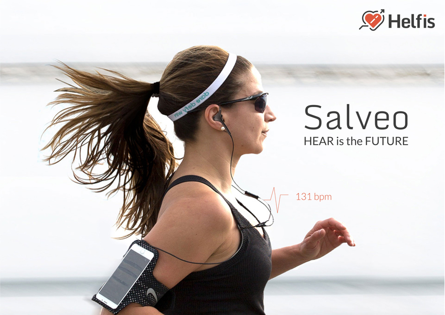 Helfis Introduces Salveo – India's First Hearable with Integrated In-ear Heart Rate Sensing for Marathon Training