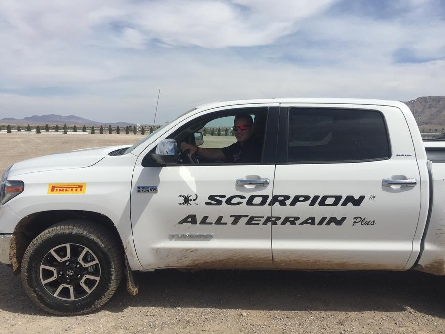 Burt Brothers Attends Pirelli All Terrain Plus Tire Unveiling in Las Vegas