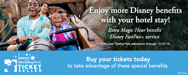 As a Guest of Best Western Lake Buena Vista Resort in 2018, Access to Disney Fun is More Magical Than Ever!