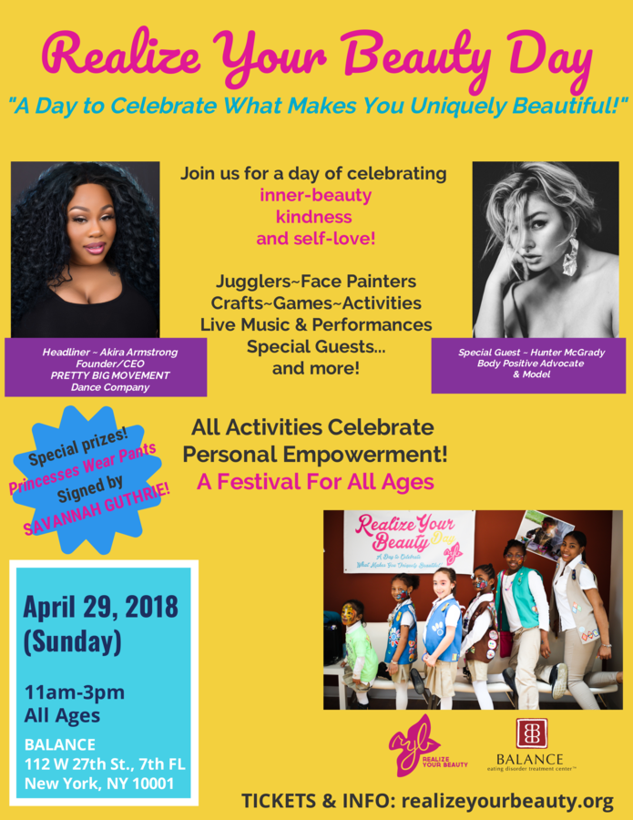NYC Event Celebrating Inner-Beauty Features Dance Company Founder & Sports Illustrated Model