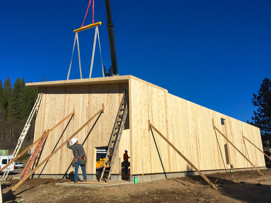 First Full CLT Building in California Opens in Plumas County
