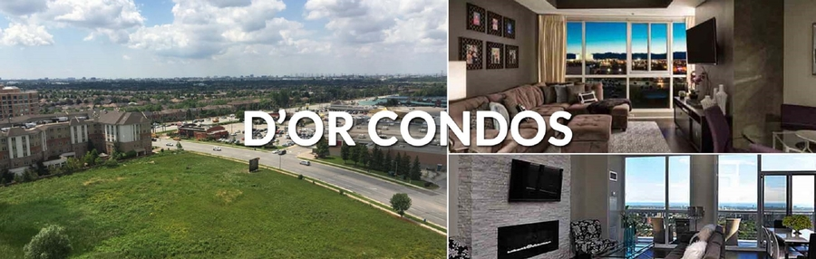 D'or Condos in Vaughan Is Set to Launch in May 2018