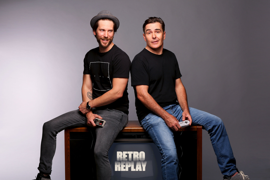 Nolan North and Troy Baker Launch Retro Replay