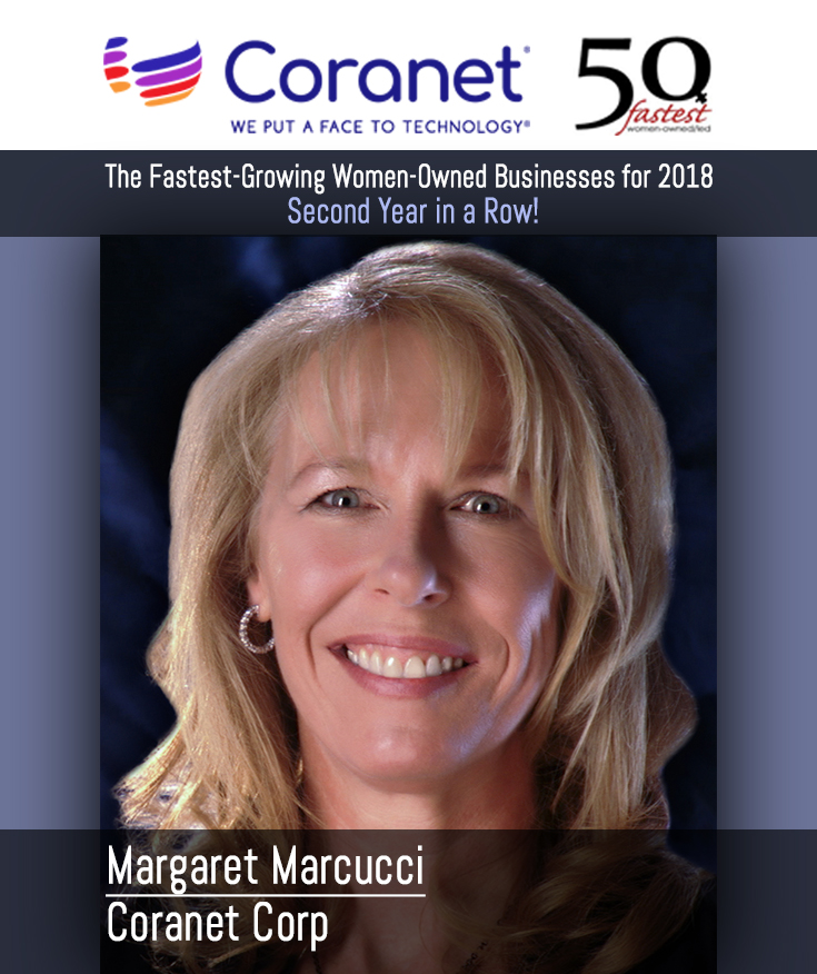 For Two Years in a Row, Coranet Corp. is a Women-Owned Business Recognized for Strong Business Growth