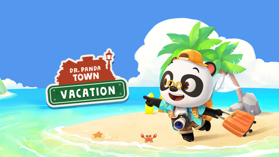 Kids Embark on The Getaway of Their Dreams in Dr. Panda Town: Vacation!
