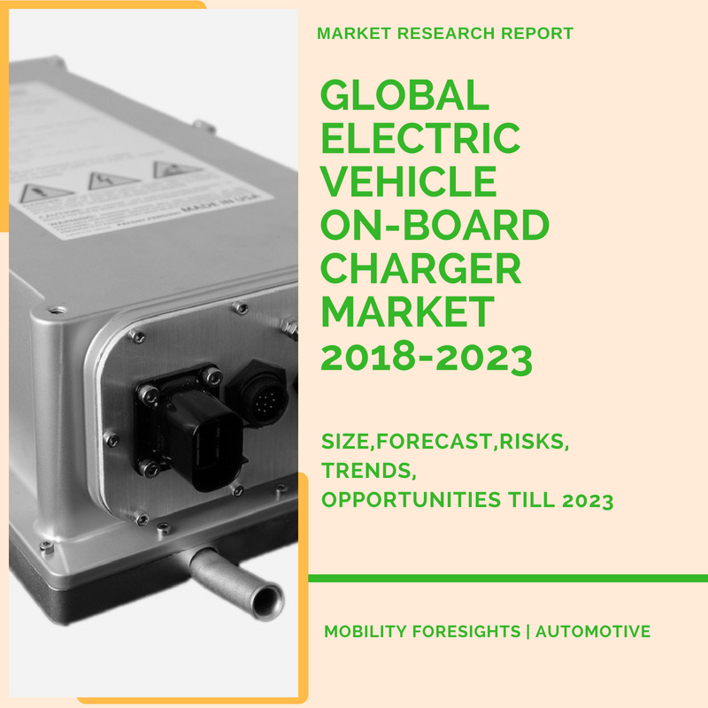 Global Electric Vehicle On-board Charger Market 2018-2023