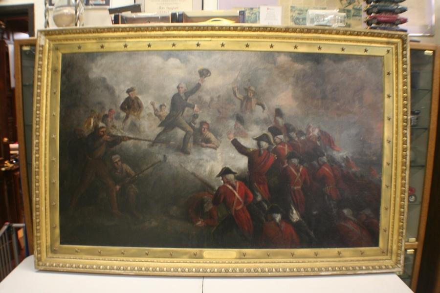 Fort Worth Museum Displays Two Patriotic Oils by Renowned Boston Artist Darius Cobb