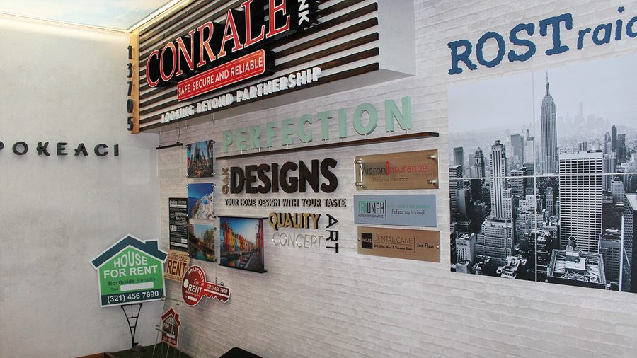 A New Signage Show Room Opens In Van Nuys, Los Angeles