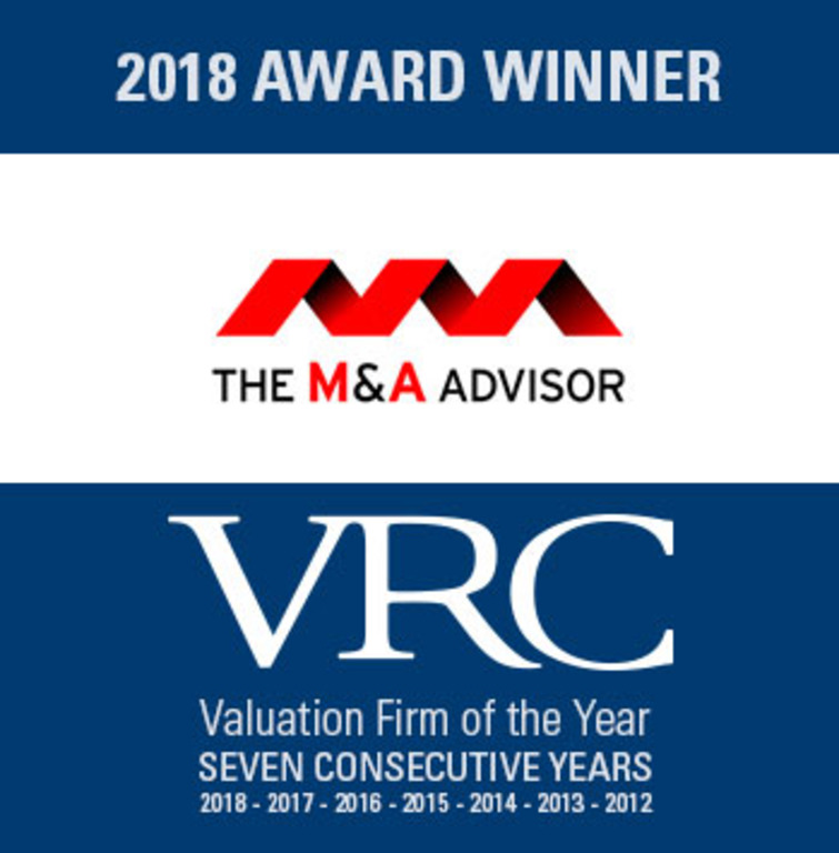VRC Named Valuation Firm of the Year