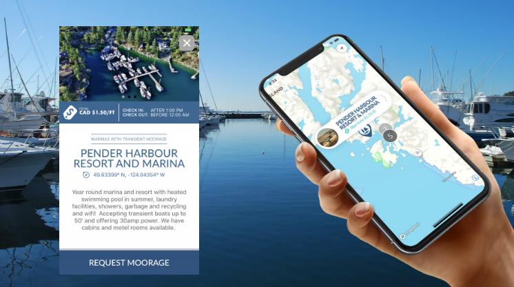 Pender Harbour Resort & Marina Implements Swift Harbour System