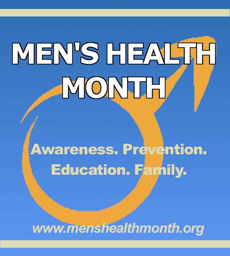 June Is Recognized As Men's Health Month