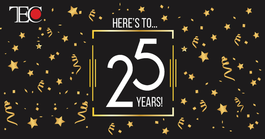 Technology Evaluation Centers (TEC) Celebrates 25 Years in the Enterprise Software Industry