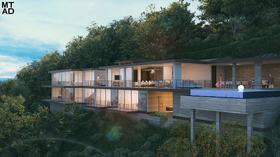 Montgomery + Townsend Architecture and Design Breaks Ground on Oil Nut Bay Residence