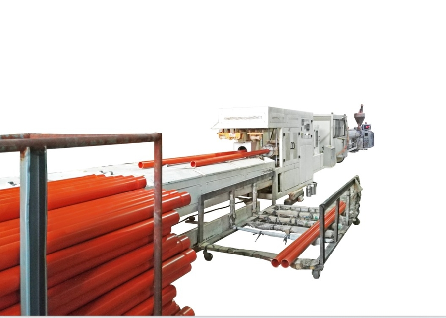 Benk Boasts Amazing 30-day Turnaround for PVC Pipe Extrusion Machines for Philippine Customer