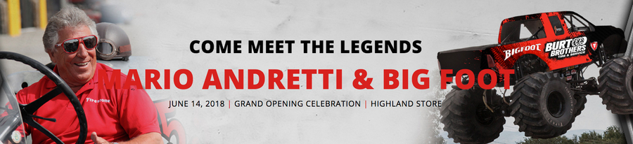 Burt Brothers' Utah Auto Repair Shops Host Racing Legend, Mario Andretti