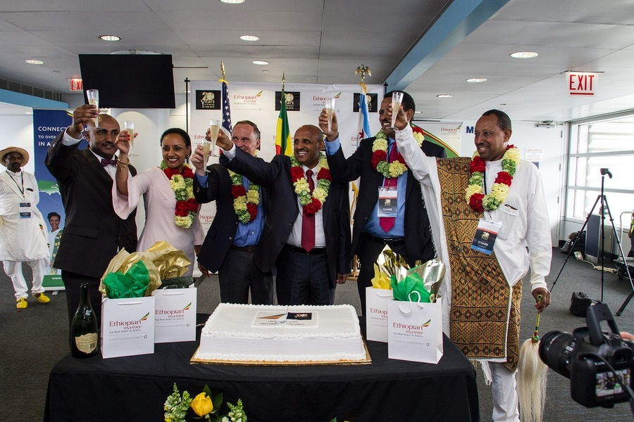 Ethiopian Airlines Launches First-Ever Nonstop Service from Chicago to Africa
