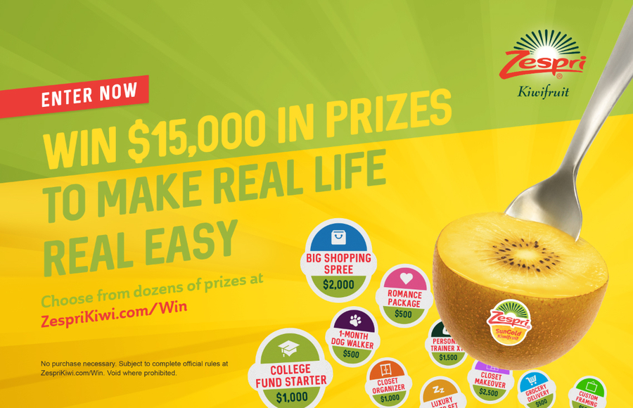 Zespri's New Consumer Campaign Designed to Drive Traffic at Retail