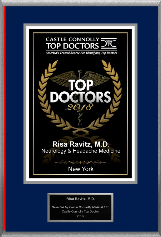 Dr. Risa Ravitz M.D, is Recognized Among Castle Connolly Top Doctors® for New York, NY Region in 2018