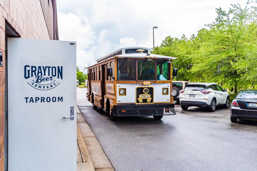 Florida Beach Destination Launches Brew Tour Trolley