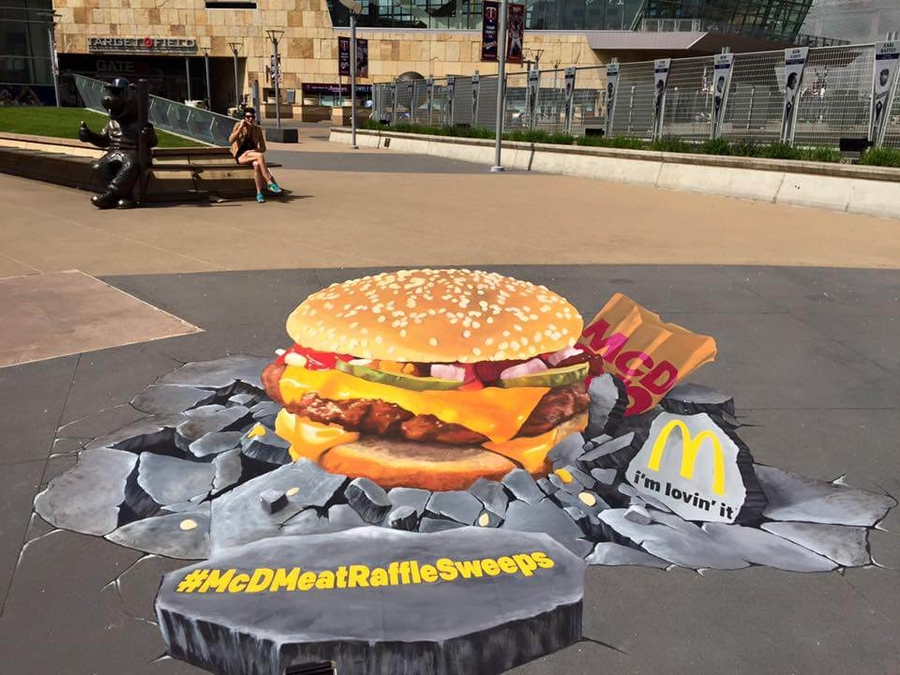 We Talk Chalk Announces 3D Street Painting Studio/Gallery in Downtown Las Vegas Arts District