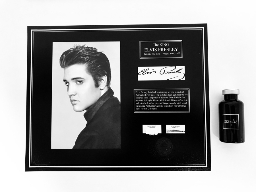 Tattoo Ink Made Of Elvis Presley's Hair – Get In Touch With The King