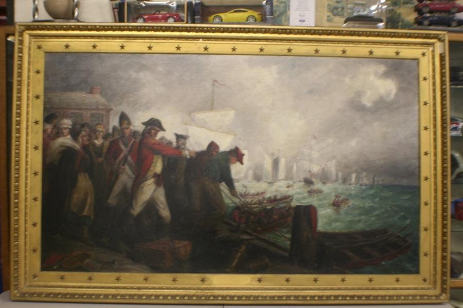 Fort Worth Museum Displays Two Patriotic Paintings by Great American Artist Darius Cobb
