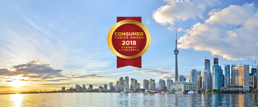 Greater Toronto Area & Barrie 2018 Consumer Choice Award Winners