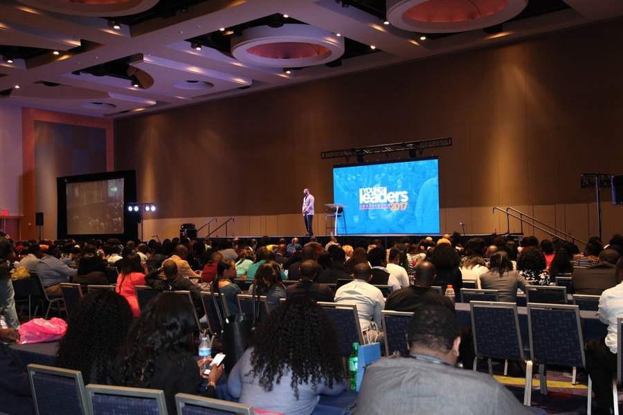 The 6th Annual Young Leaders Conference at the Georgia International Convention Center August 2-4, 2018