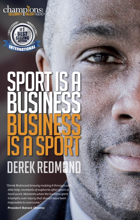 Derek Redmond Release his New Book, Sport Is A Business, Business is a Sport