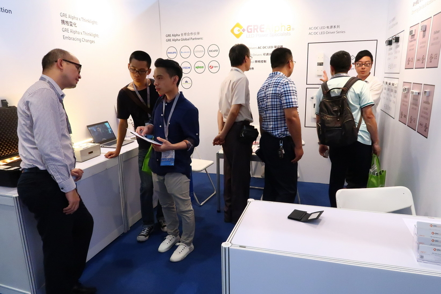 GRE Alpha Exhibit Popularity Soars at Guangzhou International Lighting Exhibition