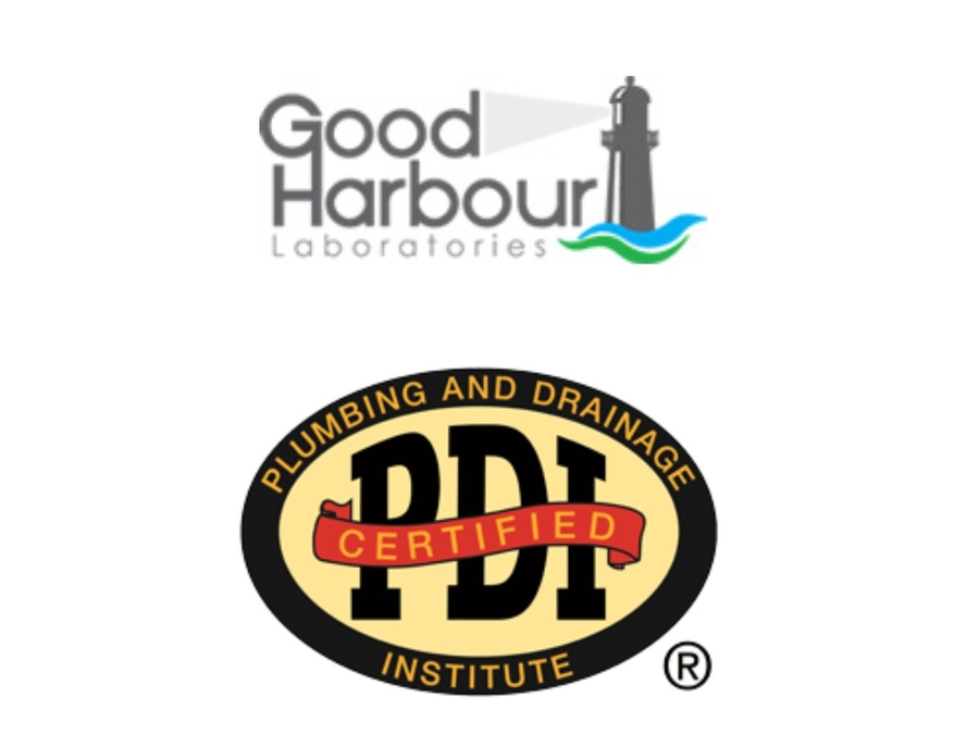 Good Harbour Laboratories Receives Plumbing and Drainage Institute (PDI) Accreditation