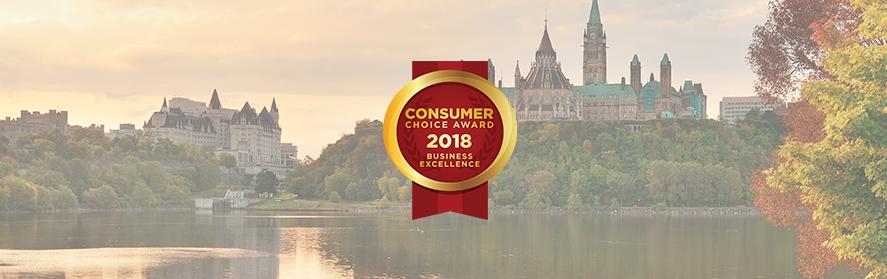Ottawa's 2018 Consumer Choice Award Winners