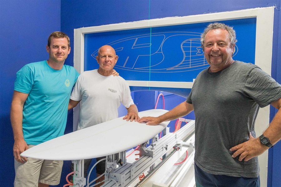 Surfboard Machine Makes Waves at South Jersey Shore