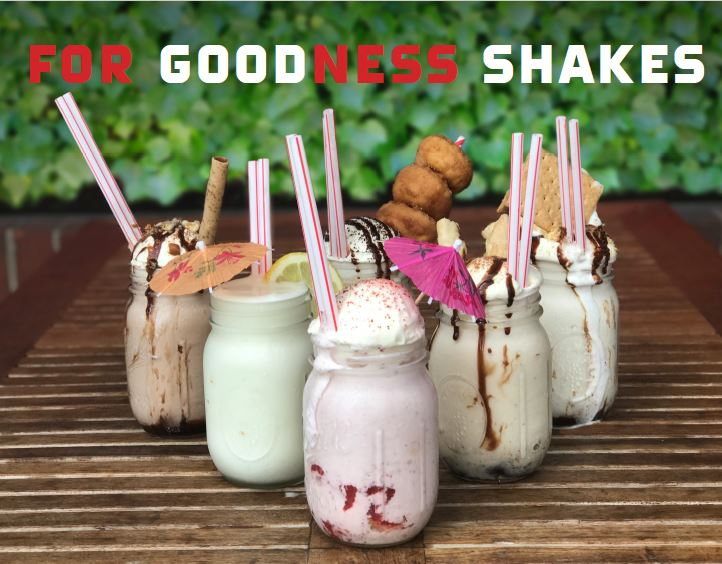 For Goodness Shakes… New Milkshake Bars Pop Up Across All Eight Epic Burger Locations Throughout Chicagoland!