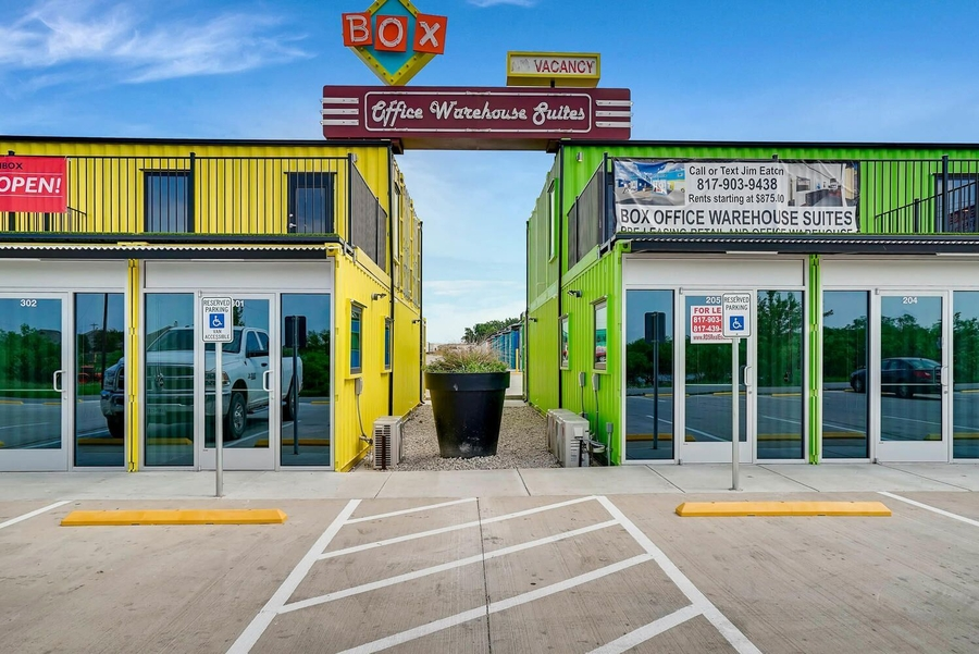 Shipping Container Business Park in New Fort Worth Design District Selects Colorado-Based Virtuance Commercial as Real Estate Listing Photographer