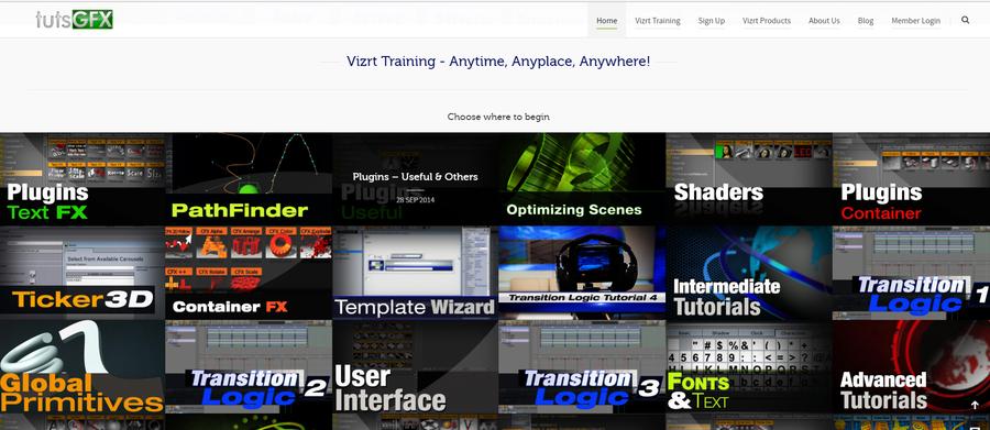 TutsGFX Celebrates Five Years Of Online Vizrt Training