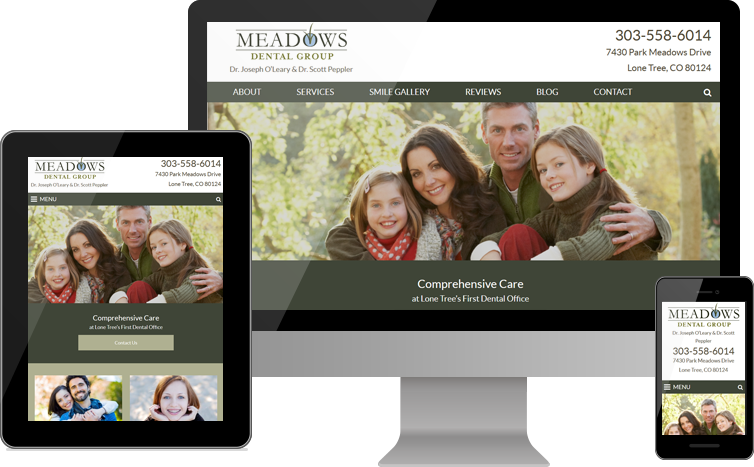 Meadows Dental Group Launches New Practice Website