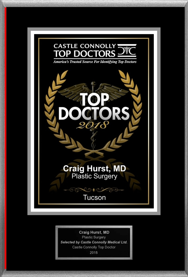 Dr. Craig A Hurst MD is Recognized Among Castle Connolly Top Doctors® for Tucson, AZ Region in 2018