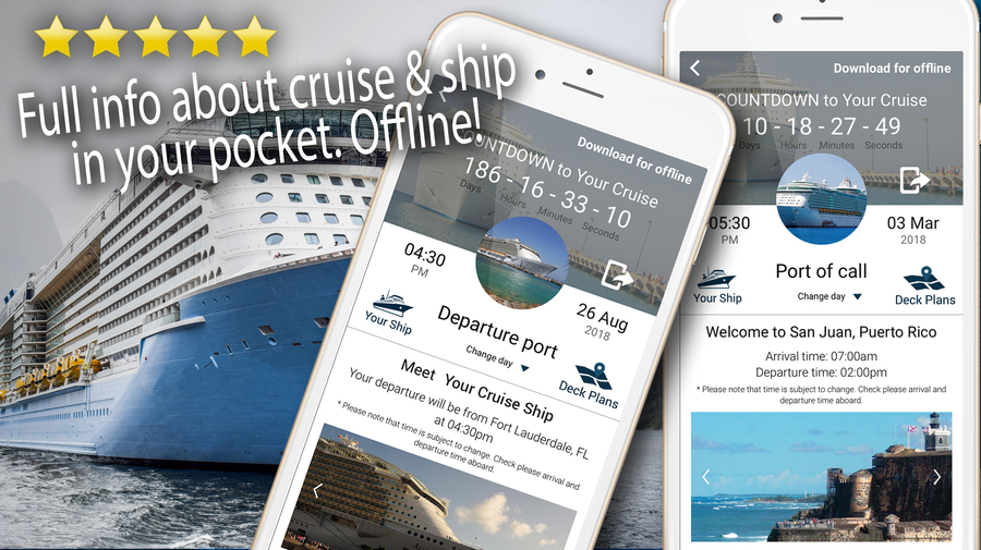 This Cruise App Saves Travelers Time and Aggregates Their Cruise Itinerary