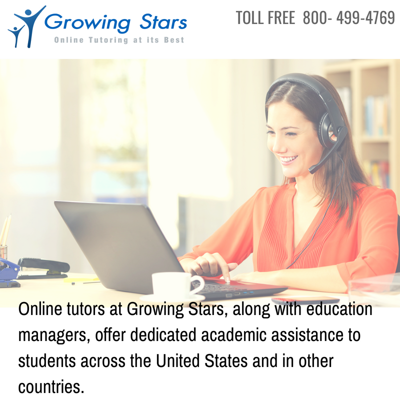 Online Tutoring with Growing Stars Help Students Improve Their Grades in School