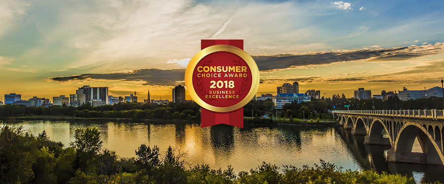 Saskatoon's 2018 Consumer Choice Award Winners