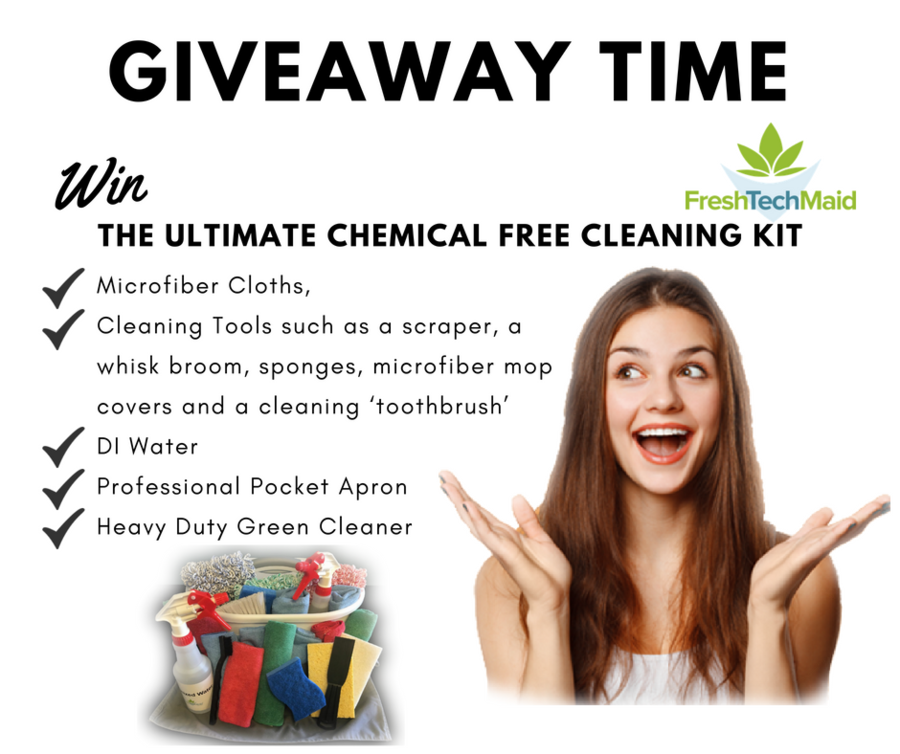 GIVEAWAY: Win the 'Ultimate Chemical Free Cleaning Kit'