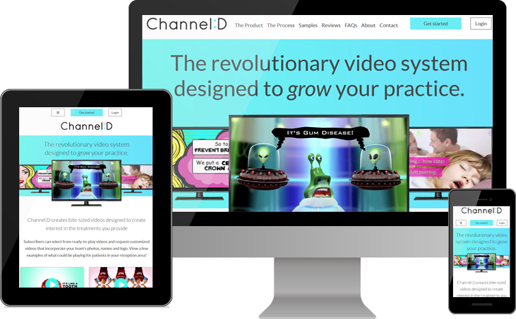Channel D Launches New Website for Dentists Who Want to Grow Their Practice with Original Customized Videos