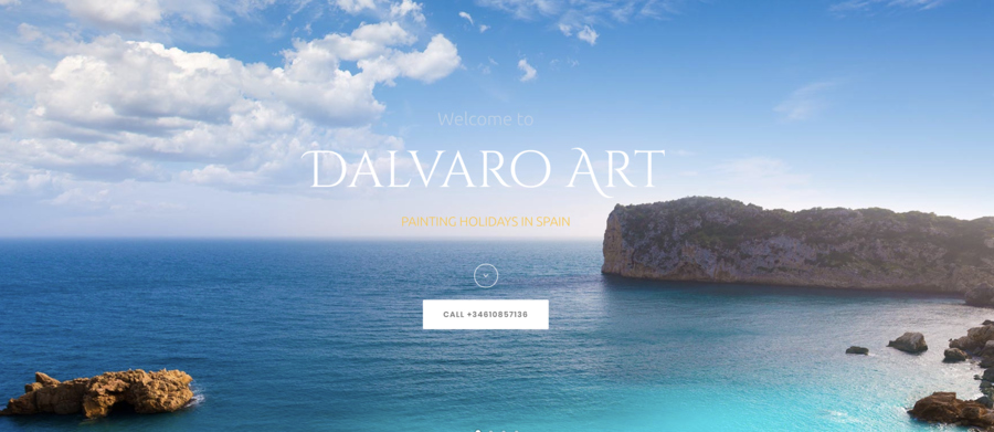 Dalvaro Art Painting Holidays Releases a New Service for Professional Painters to Organize their own Workshops