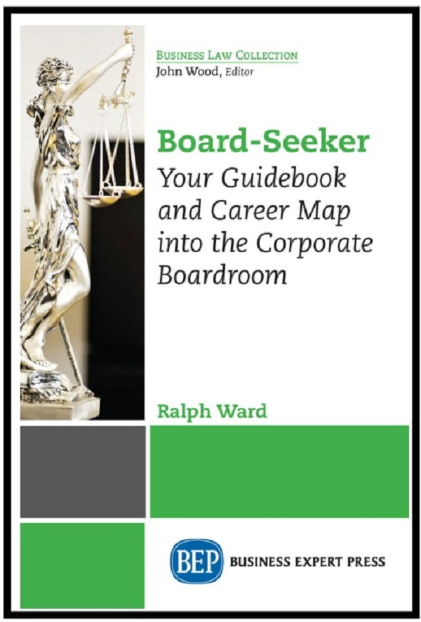 New Book – BOARD SEEKER: Your Guidebook and Career Map into the Boardroom