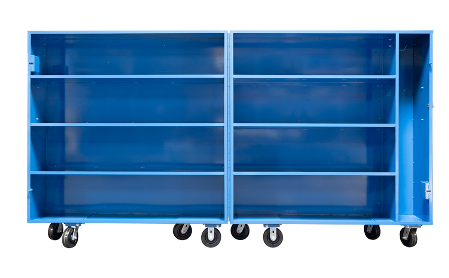 BHS, Inc. Releases New Bifold High Value Cart for Mobile Secure Storage