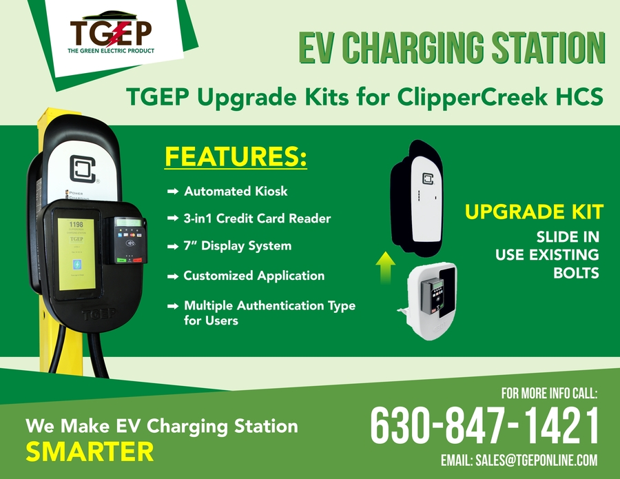ClipperCreek HCS EV Charging Stations Gets Upgrades from TGEP
