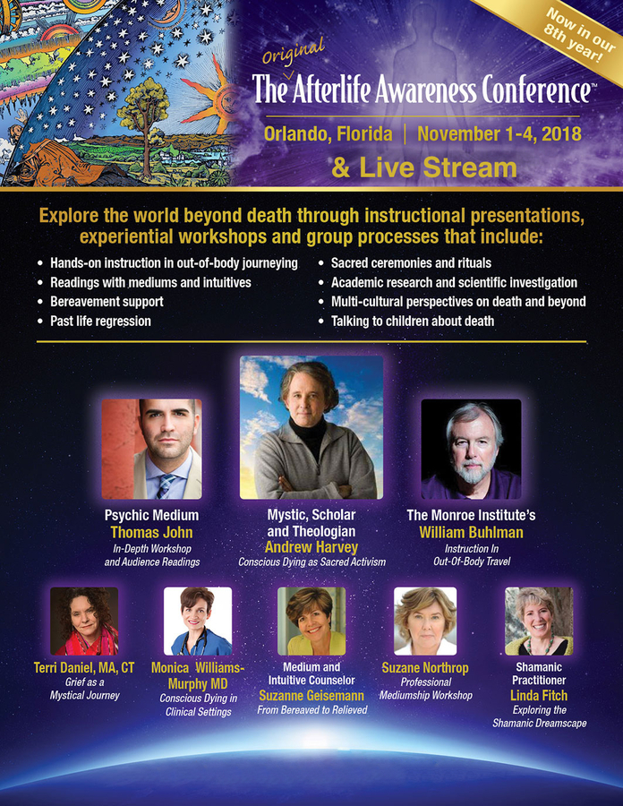 Path 11 to Live Stream the 2018 Afterlife Awareness Conference